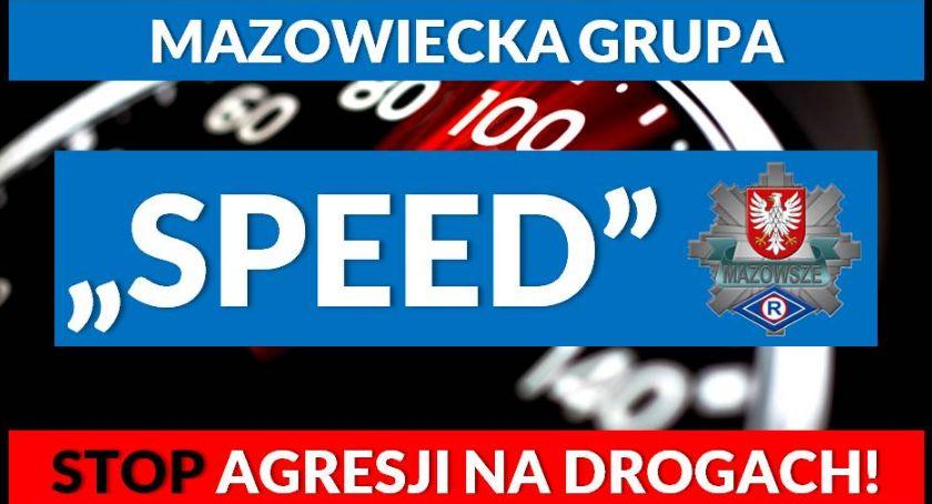"""Policja Radom/Policja Mazowiecka, Piraci drogowi kontra grupa """"SPEED"""" - zdjęcie, fotografia"""