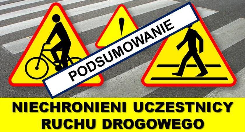 """Policja Radom/Policja Mazowiecka, Podsumowanie policyjnych działań """"Niechronieni uczestnicy ruchu drogowego"""" - zdjęcie, fotografia"""
