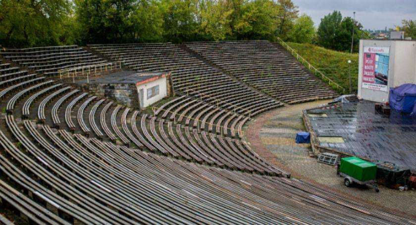 Informacje z Radomia i okolic , Amfiteatr przebudowy - zdjęcie, fotografia