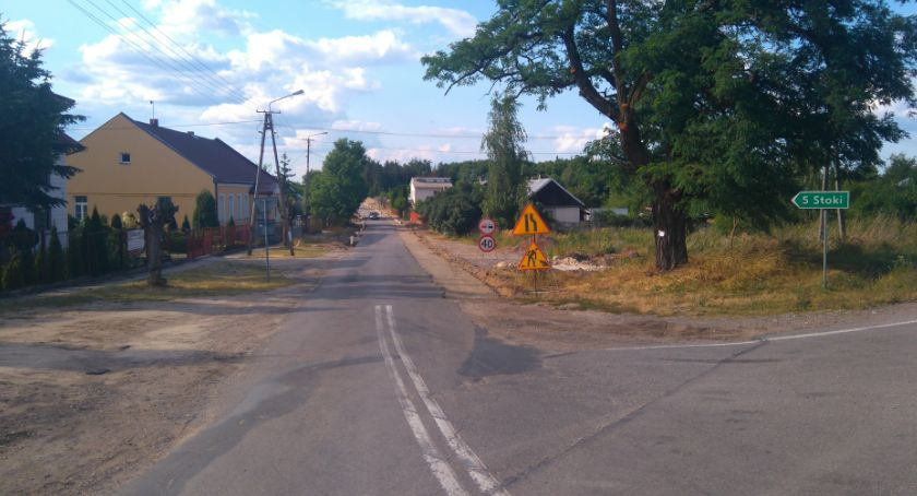 Komunikaty i ogłoszenia, Przebudowa drogi powiatowej 3519W Lewaszówka Poświętne Wystąpią utrudnienia ruchu - zdjęcie, fotografia