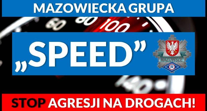 """Policja Radom/Policja Mazowiecka, Kolejny tydzień pracy mazowieckiej grupy """"SPEED"""" - zdjęcie, fotografia"""