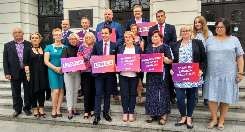 Polityka, Radomska Lewica zaprezentowała listę Sejmu [FOTO] - zdjęcie, fotografia