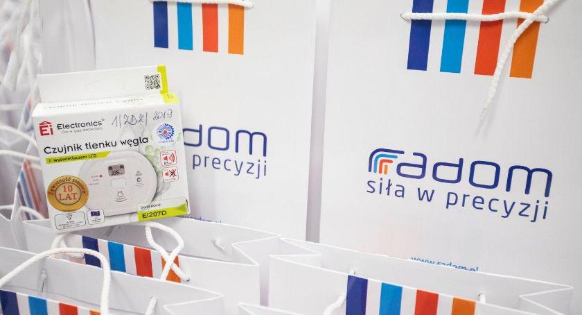 Informacje z Radomia i okolic , Kolejne czujniki czadu seniorów - zdjęcie, fotografia