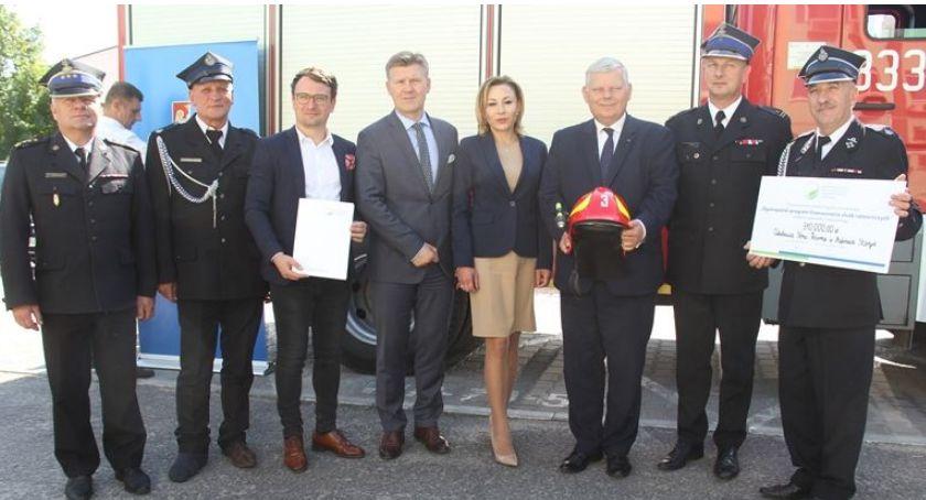 Powiat Radomski, sprzęt strażaków - zdjęcie, fotografia
