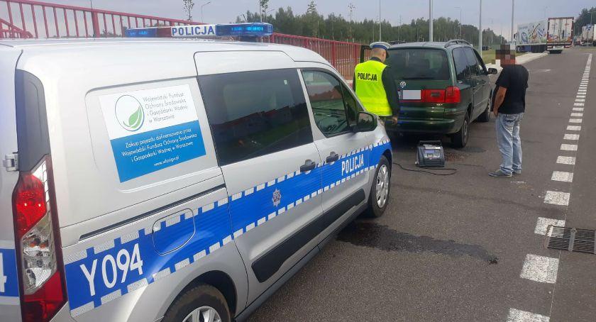 Policja Radom/Policja Mazowiecka, Nietrzeźwy jechał niesprawnym autem - zdjęcie, fotografia