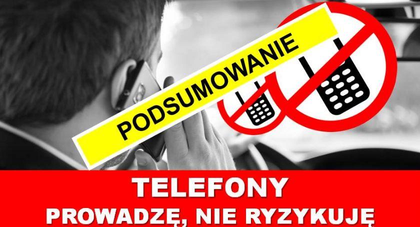 Policja Radom/Policja Mazowiecka, Podsumowanie działań Telefony - zdjęcie, fotografia