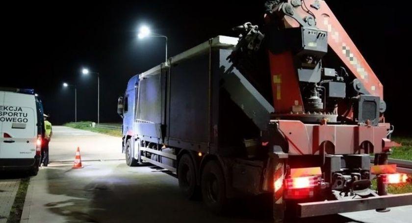 Powiat Radomski, Nocne kontrole drogach powiatu - zdjęcie, fotografia