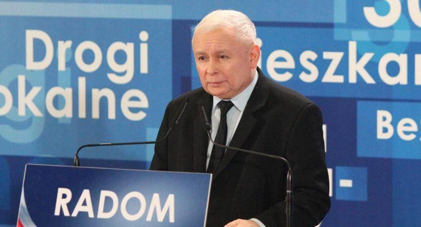 Polityka, Jarosław Kaczyński przyjedzie Radomia - zdjęcie, fotografia