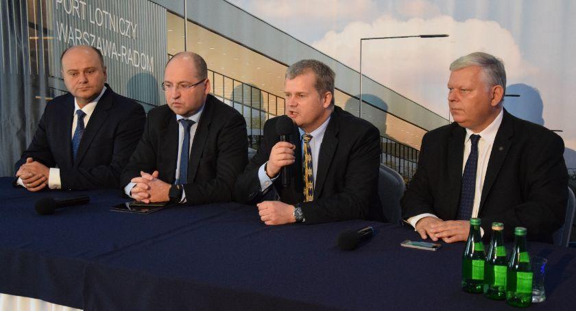 Inwestycje, Przetarg budowę terminala lotnisku Radomiu ogłoszony [FOTO] - zdjęcie, fotografia