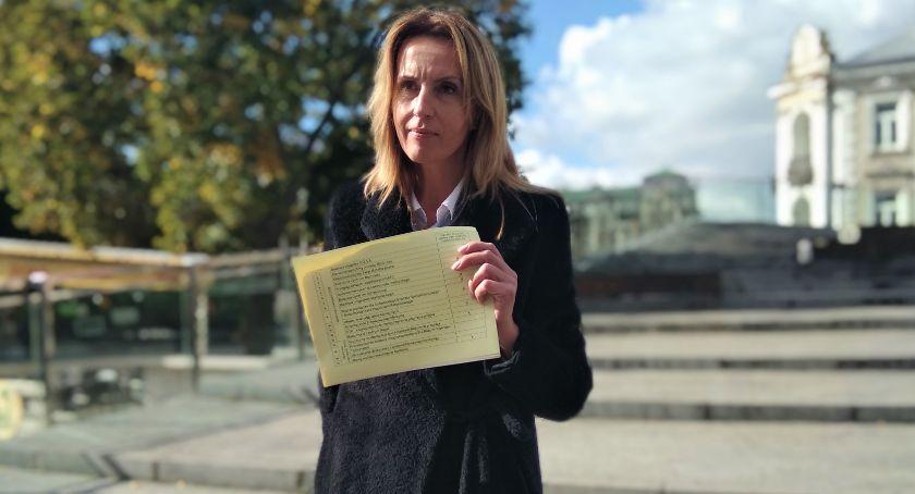 Polityka, Poseł Białkowska parlamentarzystów rzucajcie czczych obietnic radomianie kupią - zdjęcie, fotografia