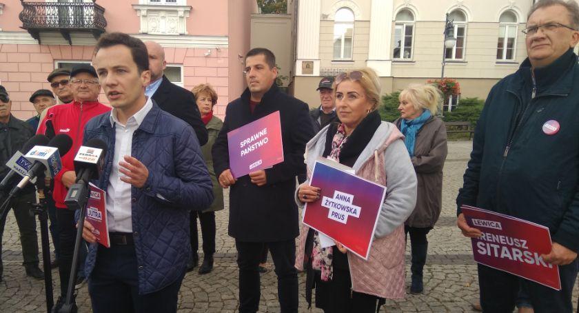 Polityka, Lewica Jeśli wygramy wróci praworządność niezależne sądownictwo sprawiedliwość społeczna [FOTO] - zdjęcie, fotografia