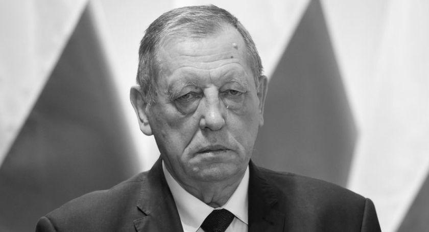 Ważne, Zmarł Szyszko Były minister środowiska miał - zdjęcie, fotografia