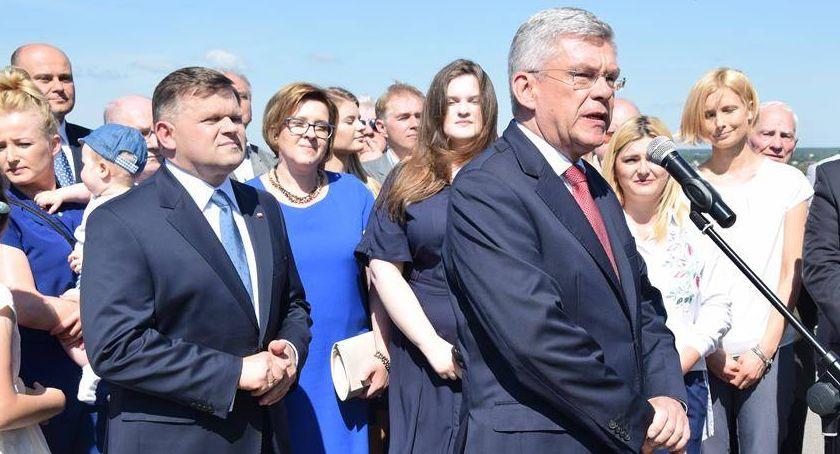 Polityka, Wojciech Skurkiewicz Stanisław Karczewski nowymi senatorami - zdjęcie, fotografia