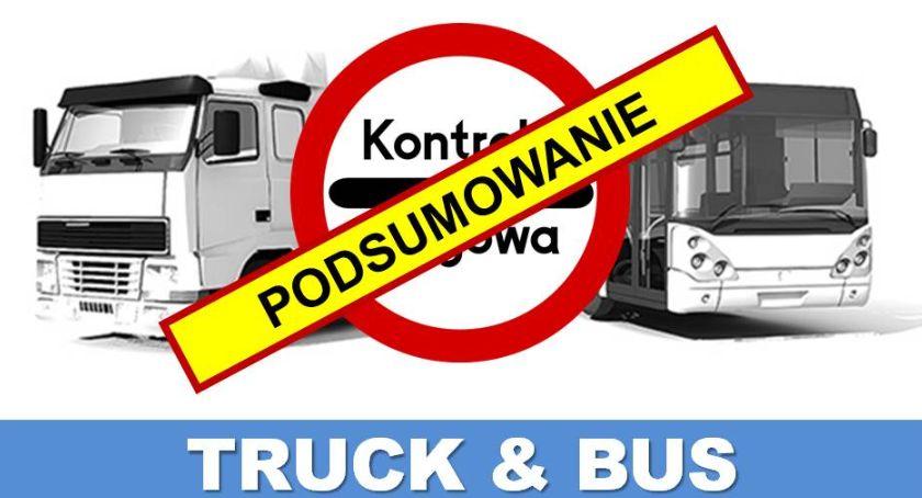 """Policja Radom/Policja Mazowiecka, Podsumowanie działań """"Truck Bus"""" - zdjęcie, fotografia"""