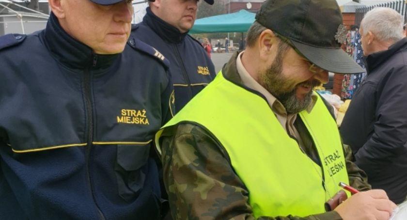 Interwencja, STROISZ Wspólne kontrole straży miejskiej straży leśnej - zdjęcie, fotografia