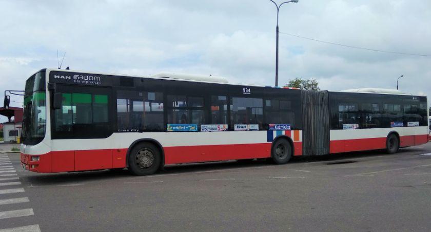 Komunikacja Miejska , Uruchomienie kursów zastępczej linii miejskiej - zdjęcie, fotografia