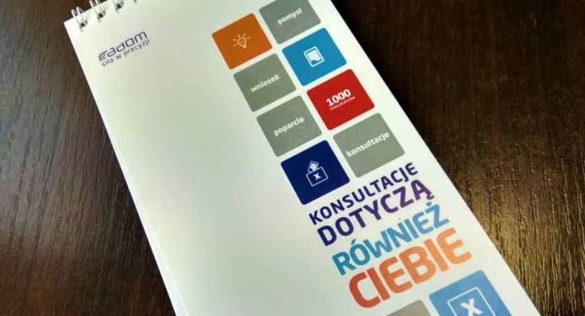 Informacje z Radomia i okolic , Radom Trwają konsultacje społeczne - zdjęcie, fotografia