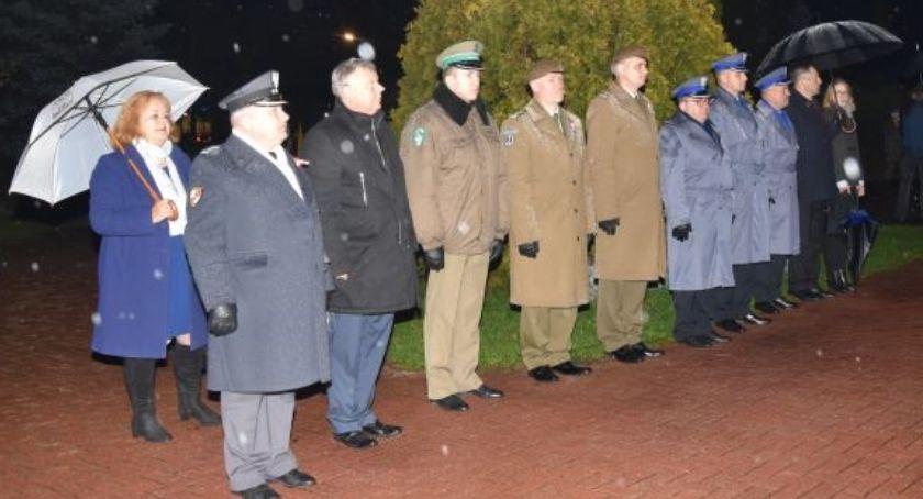 Policja Radom/Policja Mazowiecka, Capstrzyk Niepodległości Grójcu - zdjęcie, fotografia