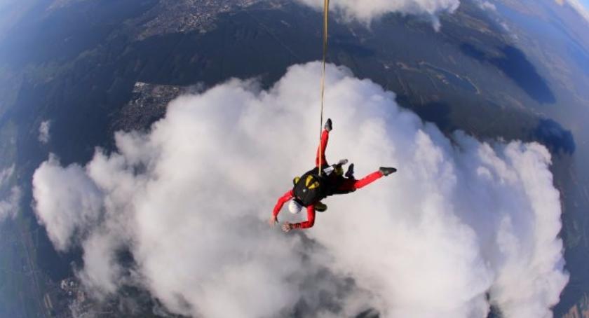 Sport - Inne, Skoki spadochronowe przyjemność blisko Ciebie - zdjęcie, fotografia