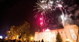 Huczne powitanie Nowego Roku na radomskim deptaku