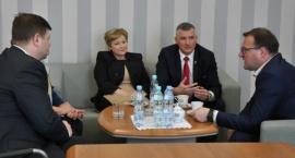 Prezydent Radosław Witkowski rozmawiał o dalszych losach Wojewódzkiego Szpitala Specjalistycznego