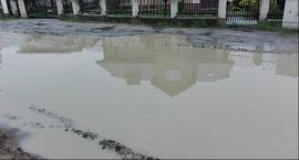 Ulewa nad Radomiem. Wiele zalanych posesji i ulic
