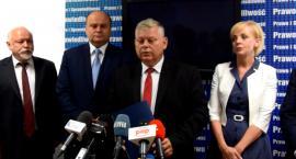 Posłowie PiS: Ponownie żądamy odwołania wiceprezydenta Konrada Frysztaka [FOTO i WIDEO]