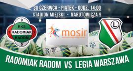 W piątek towarzyski mecz z Radomiaka z Legią