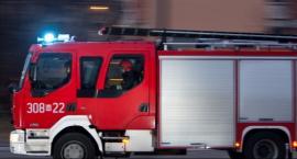Pożar w wieżowcu na 11 Listopada