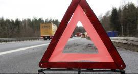 Wypadek w Zakrzewskiej Woli. Dwie osoby ciężko ranne