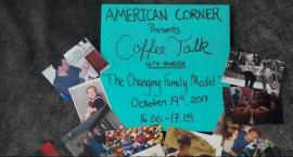 Coffee talks with Vanessa w American Corner