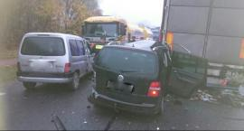 Kolizja w Wawrzyszowie. Sprawca zdarzenia wrócił na miejsce wypadku