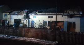 Pożar gospodarstwa w Kacprowicach