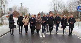 Droga powiatowa Brzóza-Radom przebudowana