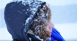 Silny wiatr i zamiecie śnieżne