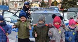 Policjanci rozmawiali o bezpieczeństwie z dziećmi z wadą słuchu