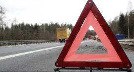 Zderzenie dwóch autobusów w Nowej Woli Gołębiowskiej