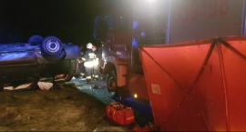 Wypadek w Magierowie. Nie żyje młody mężczyzna