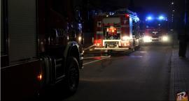 Pożar na ulicy Kuśnierskiej