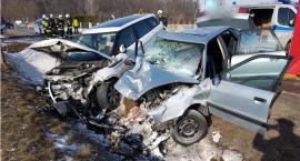 Gmina Pionki. Śmiertelny wypadek na drodze 737 [FOTO]