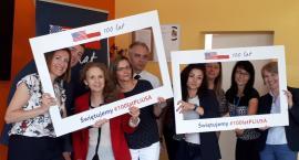Dyplomaci z Ambasady USA w Warszawie na spotkaniu z młodzieżą [FOTO]