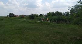 Poszukiwania zaginionej kobiety w okolicach rzeki Radomki