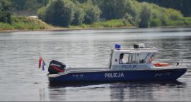 Wodny posterunek policji w Domaniowie