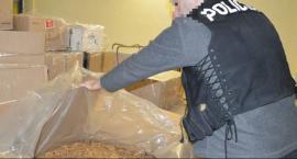 Ponad 800 kg nielegalnego tytoniu posiadał mężczyzna z gminy Zakrzew