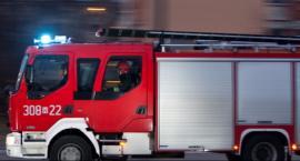 Pożar kamienicy przy ul. Czachowskiego w Radomiu