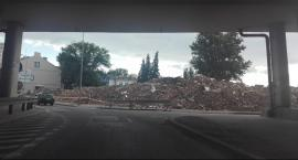 Budowa trasy N-S. Wyburzone kamienice