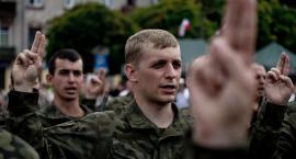 W Płocku złożyli przysięgę wojskową żołnierze 6. Mazowieckiej Brygady Obrony Terytorialnej [FOTO]