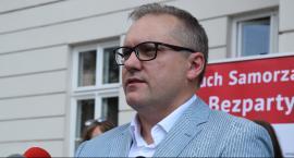 Rafał Kowalik: Brak logiki w budowie trasy N-S. Mieszkańcy ul. Szklanej protestują
