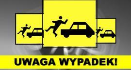 Potrącenia i wypadek z udziałem motorowerzysty