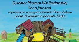 Otwarcie placu zabaw w Muzeum Wsi Radomskiej